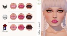 Aidhona - Plum Lipstick for Lelutka Mesh Head