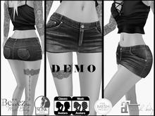 Adore.Z-Alba Skirt Jeans   D E M O