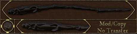 Gnarled Old Wand - crafted magic wand