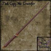 Ancient Blaze Wand - crafted magic wand