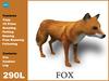 [TomatoPark] Red Fox Mesh 3.1 ( roaming + wearable )