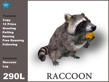 [TomatoPark] Raccoon Mesh 3.1 ( roaming + wearable )