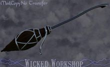The Nightshade - Scripted flying broom