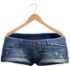 Blueberry - Tazz Shorts - Maitreya/Belleza/Slink - Dark Blue