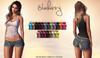 Blueberry - Jocelyn Mesh Knotted Shirt - Maitreya Lara, Belleza Freya Isis Venus, Slink Physique Hourglass - Fat Pack