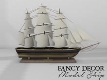 Fancy Decor: Model Ship