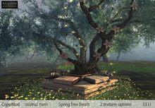 .:M.LAW:. Spring tree Bench BOX