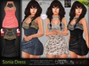 Sonia Dress MESH - TMP, Maitreya Lara, Slink Physique Hourglass - HUD - DreamLife FashionNatic