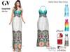 GV Full Perm Mesh Halter Neck Maxi Dress Classic+FitMesh+Slink+Maitreya+Belleza