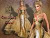 .:JUMO:. Dominique Gown Gold
