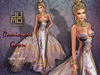 .:JUMO:. Dominique Gown Plum