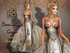 .:JUMO:. Dominique Gown Silver