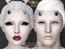 PUNCH / Devil Horns [Mesh] Distinct Series