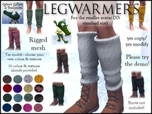 *PROMO* :GG: Legwarmers. Rigged mesh. Fatpack. Yes modify. XS standard size. Maitreya Lara