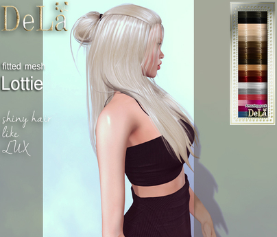 "=DeLa*= Mesh Hair ""Lottie"" Amazing pack"