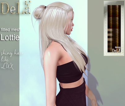"=DeLa*= Mesh Hair ""Lottie"" Browns"