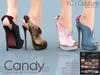 -KC- CANDY HEELS / MAITREYA, SLINK, BELLEZA, EVE, TMP