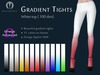 ~MR~ Gradient Tights (White pack)