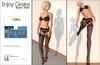 Celina black lingerie for Maitreya