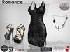 Nina Nerys - Romance full outfit Black - Maitreya/Belleza/Slink/Fitmesh