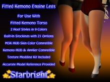 Fitted Kemono Equine Legs Demo
