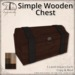 [DDD] Simple Wooden Chest