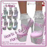 ::B-UniQ:: Hearts & Ruffles Janes