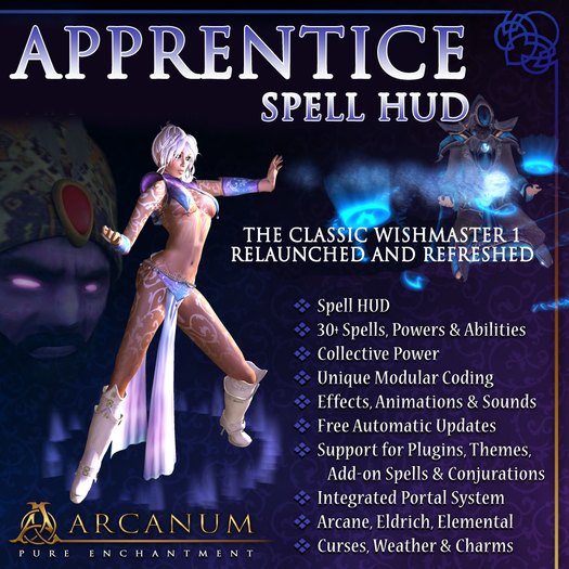 Apprentice Spell HUD