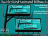 Double-Sided Animated Billboard