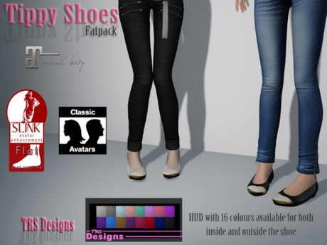 Tippy Shoes With Hud
