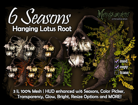 MG - 6 Seasons - Hanging Lotus Root