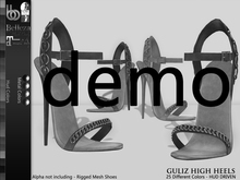 Bens Boutique - Guliz High Heels - Hud Driven Demo