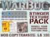 Stinger WarBug Texture Pack, HUD & Free Drafting Table