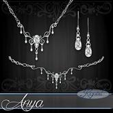 ::: Krystal ::: Anya - Jewelry Set - Platinum