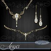 ::: Krystal ::: Anya - Jewelry Set - Gold (Simple)
