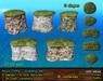 21strom Rock Cliffs Mesh Building Kit - 25 pcs, Copy+Modify, 4 LI each
