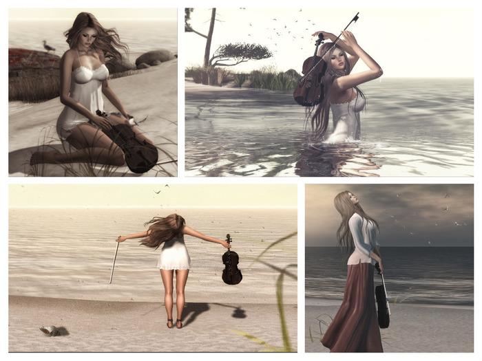 {Lyrium} Violin Poses set