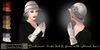 Eclectica 'Buchanan' cloche hat & gloves- ivory
