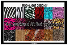 *MD* 44 Animal Print Textures - SALE - JUST 100L$