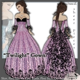 [Wishbox] Twilight Gown - Fuchsia - Fantasy Gown