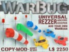 WarBug Universal Rezzer Crate