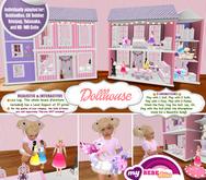 (Bebe-Home) Dollhouse - Realistic & Interactive