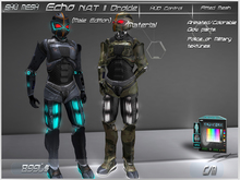 Echo N.A.T II Droide (Male)-Shu Mesh