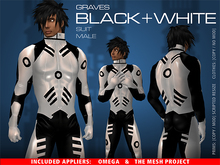 GRAVES Black And White - male + inclusive Omega, TMP...
