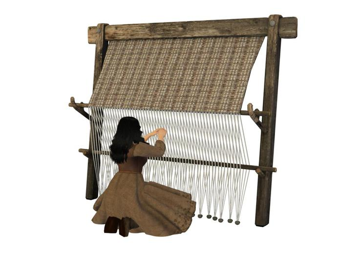 Mesh Weighted Loom