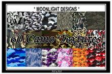 *MD* 60 Camo Textures - SALE - JUST 100L$
