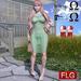 ::FLG Sandy Lace Long Dress + HUD 1 Model ::