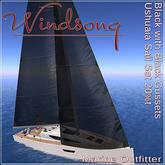 Windsong - TMS/Bandit Ushuaia Sails Black-Black Trim 20% - Texture Appliers