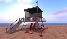 Beach *LifeGuard Hut Tower* C/M *ReZ*