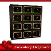Easy Inventory Organizer/Hud Black